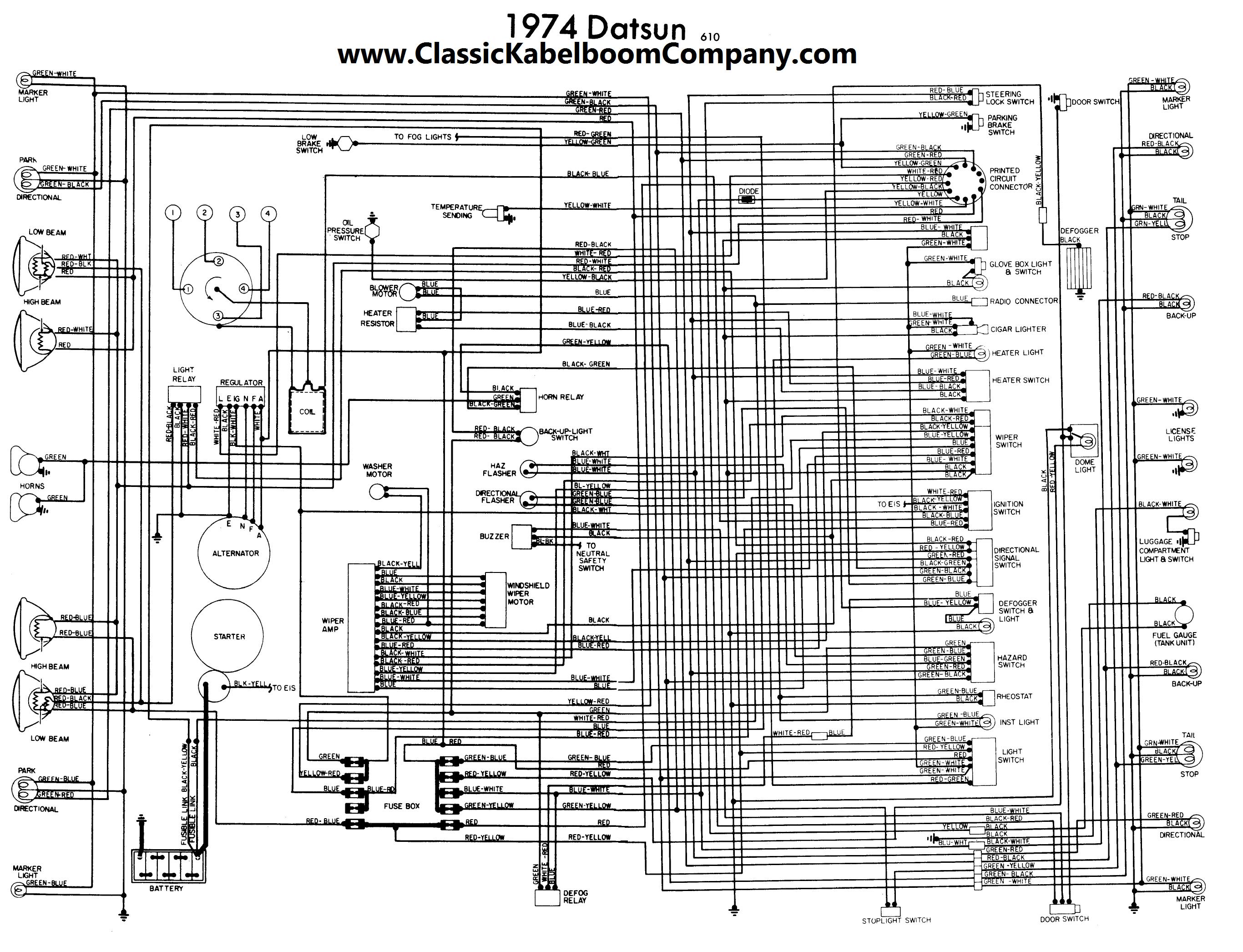 Großartig Datsun 510 Schaltplan Galerie - Elektrische Schaltplan ...
