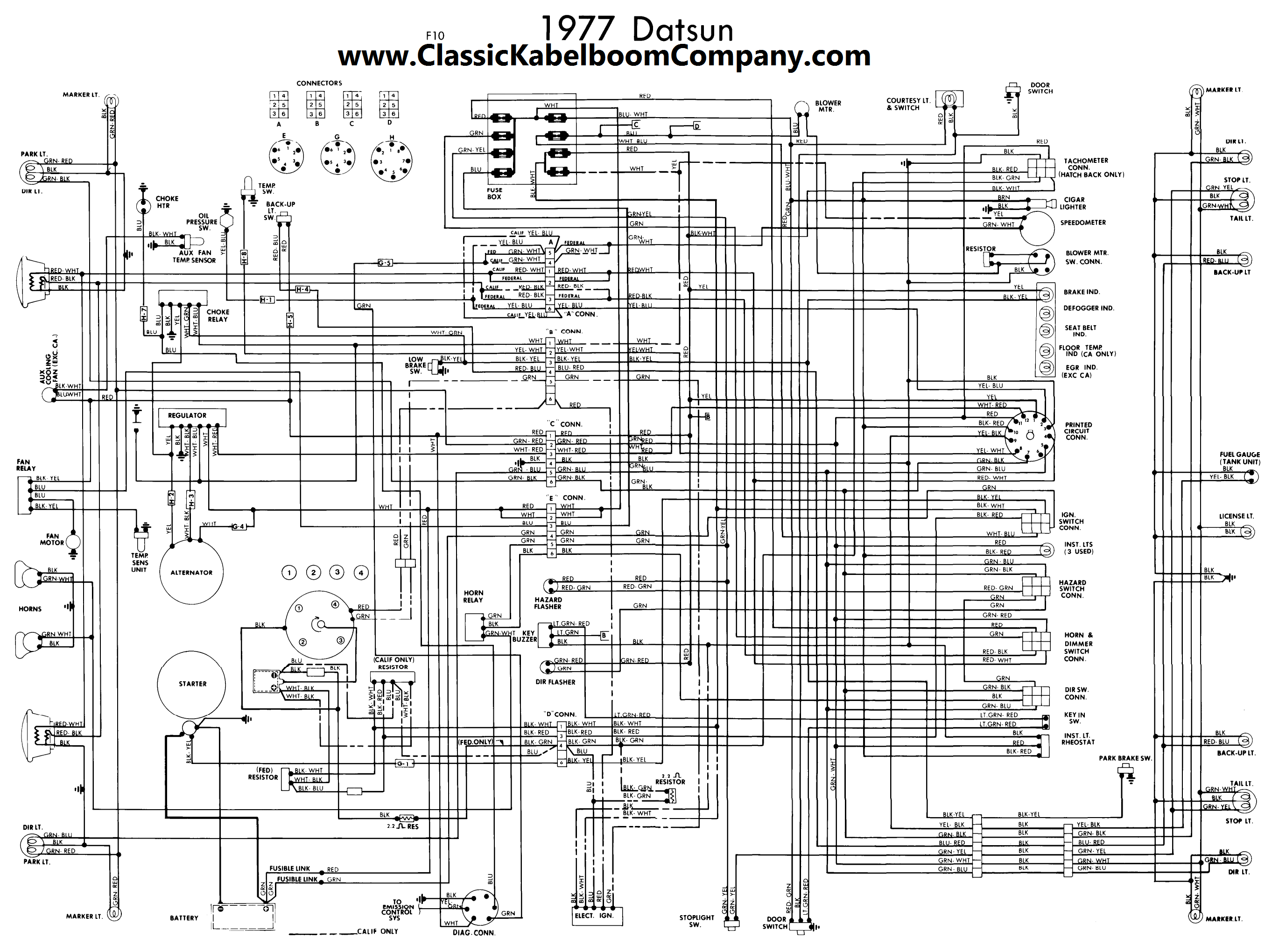 Black Interior Vinyl Replacement Kit 1975 78 280z besides Viewtopic additionally Wiring Diagram Datsun in addition Datsun 1600 Starter Wiring Diagram together with Ford Oem Abs Control Module Al8z2c219a Image 1 I1897585. on datsun 1600 roadster