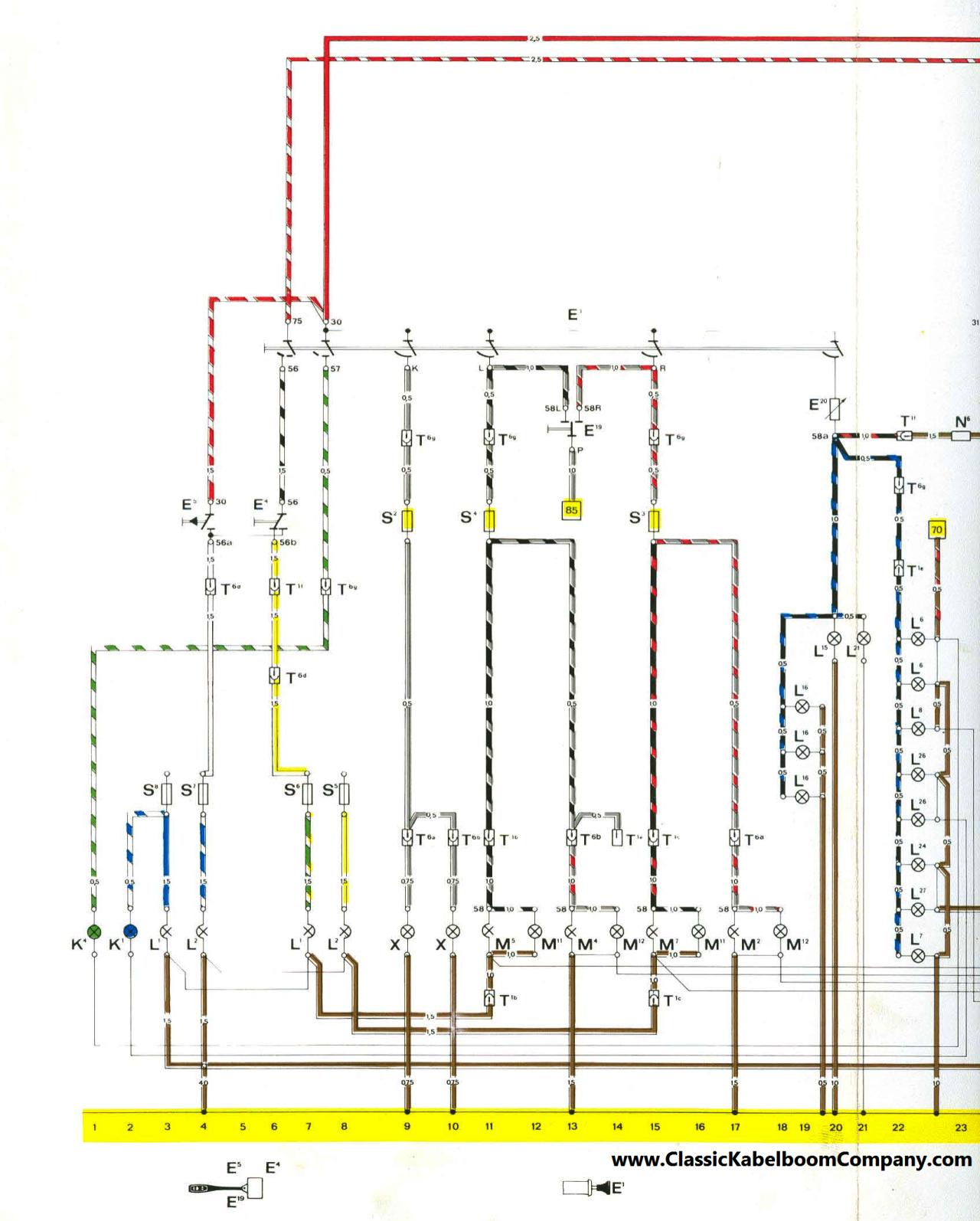 porsche 911 sc wiring diagram porsche image wiring classic kabelboom company bedrading schema s porsche wiring on porsche 911 sc wiring diagram
