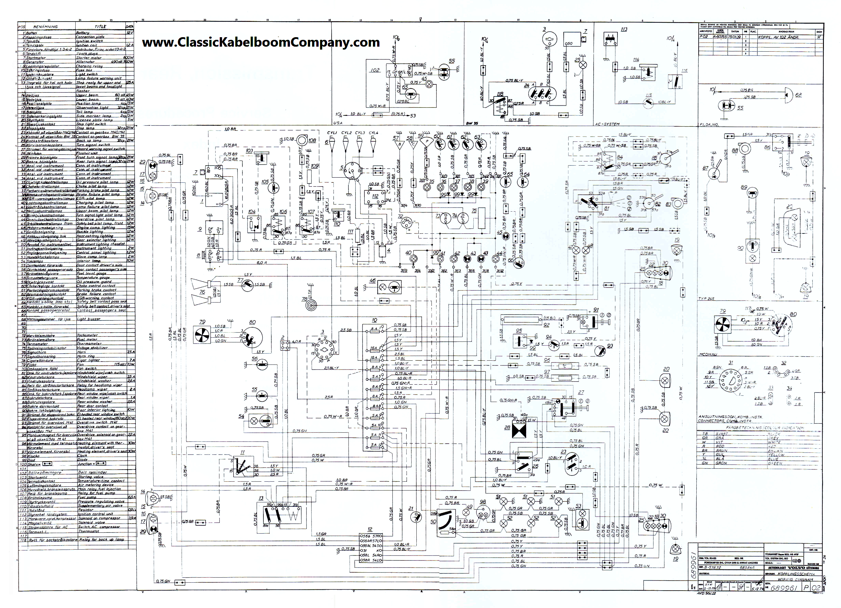 vol40?cdp=a classic kabelboom company elektrisch bedrading schema volvo 92 Volvo 240 Fuse Box at panicattacktreatment.co